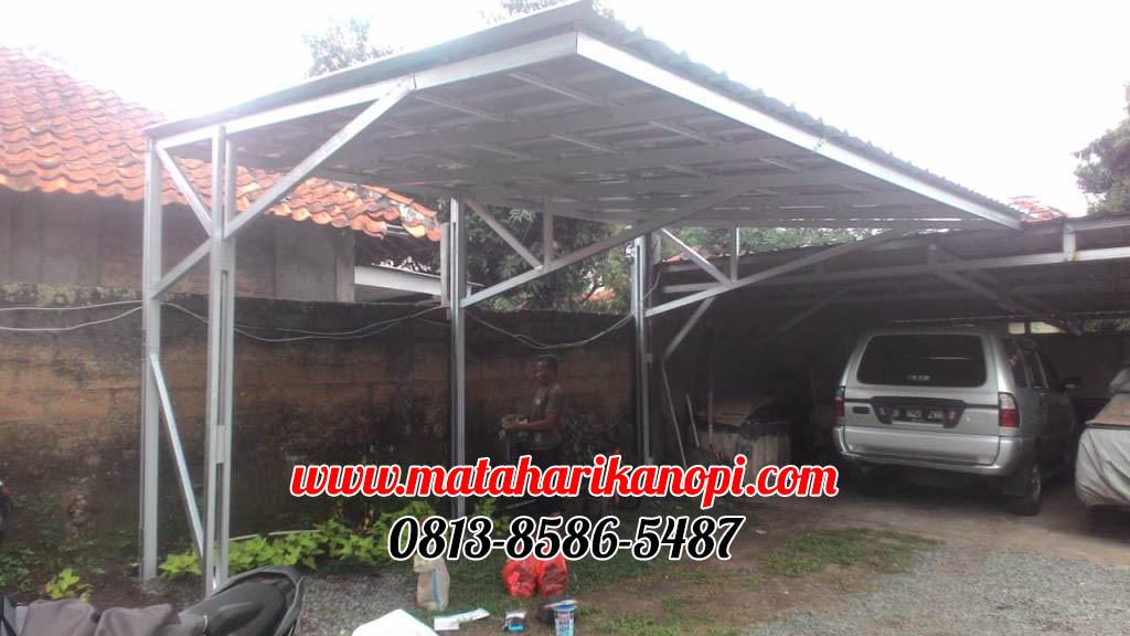 kanopi-baja-ringan-atap-spandek-elegan-di-jl-kamboja-depok-1-OK Kanopi Baja Ringan Atap Spandek