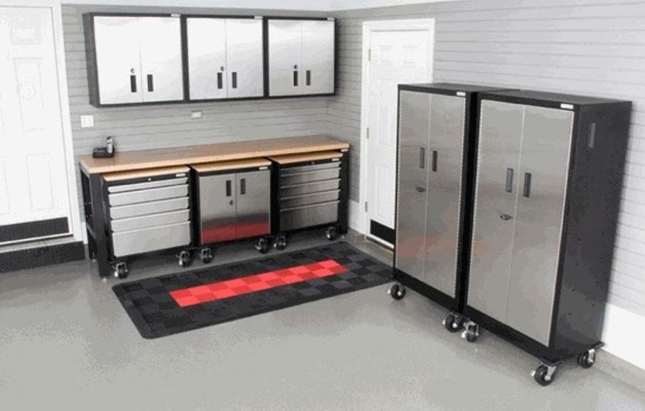 Image Result For Garage Cabinets