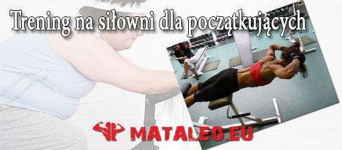 Trening na siłowni dla kobiet początkujących