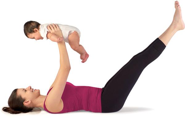 Trening w domu dla mamusiek Anglia