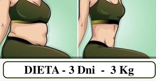Błyskawiczna dieta spalająca 3 kg w 3 dni