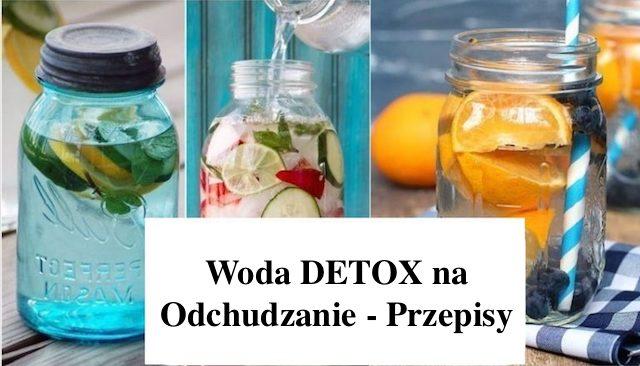 Jak zrobić wodę DETOX do odchudzania – 3 Przepisy