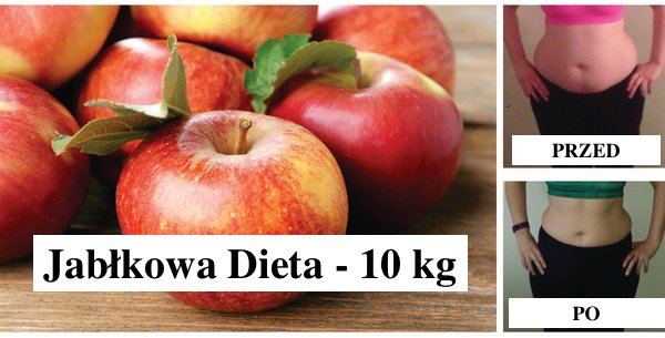 Jak stracić 10 kg w 7 dni z  niewiarygodną dietą jabłkową