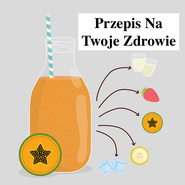 Masz problemy zdrowotne – Przepis na Sok z papai