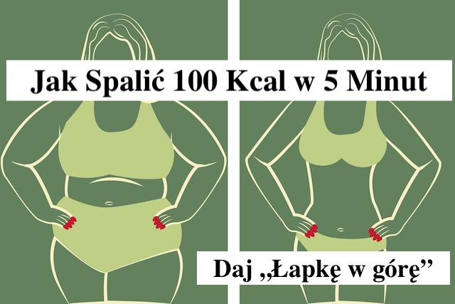 Spal 100 Kcal w 5 minut tym jednym Sposobem – Gosia Klos
