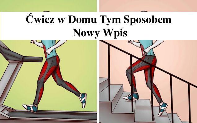 3 alternatywne ćwiczenia z siłowni –  które możesz wykonywać w domu