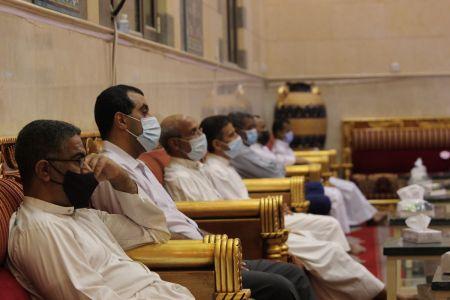ياسين الجمري - التغطية المصورة لمحاضرة ليلة العيد 1442 هـ 4