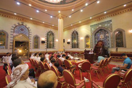 الاستاذ عبدالحسين سلمان - التغطية المصورة للختمة القرانية ليلة 30 من شهر رمضان – 1440 هـ 3