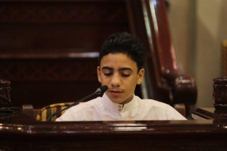 الاستاذ عبدالحسين سلمان - التغطية المصورة للختمة القرانية ليلة 30 من شهر رمضان – 1440 هـ 31