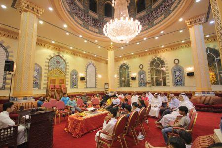 الاستاذ عبدالحسين سلمان - التغطية المصورة للختمة القرانية ليلة 30 من شهر رمضان – 1440 هـ 5