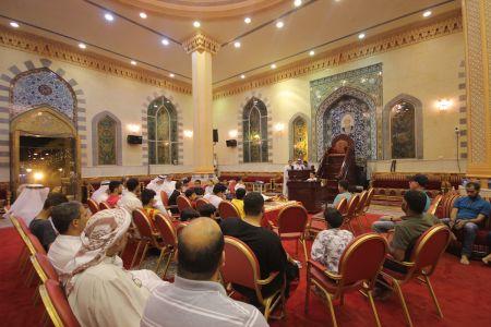 الاستاذ عبدالحسين سلمان - التغطية المصورة للختمة القرانية ليلة 30 من شهر رمضان – 1440 هـ 8
