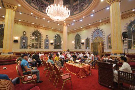 الاستاذ عبدالحسين سلمان - التغطية المصورة للختمة القرانية ليلة 30 من شهر رمضان – 1440 هـ 9