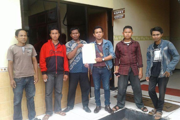 Himpunan Pemuda Peduli Sampang Laporkan Pemalsuan Dokumen SP2D BLH