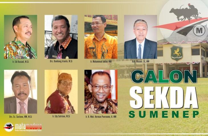 Inilah Tujuh Pejabat Calon Sekda Sumenep. Siapakah Dia?