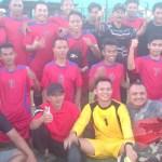 Nonggunong vs Kota: Menang Adu Penalti, Tim Nonggunong Masuk Empat Besar Bupati Cup 2019