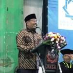 Ketika Wakil Ketua DPRD Jatim Berceramah di Ribuan Wisudawan UINSA