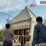 Pasang Nok Siku Genteng, Pekerja Bangunan asal Pamolokan Ini Tewas Kesetrum