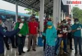 Di Terminal Bangkalan, Ratusan Santri Jombang Diperiksa Satgas Covid-19