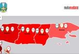 Kasus Corona di Jatim Tembus 2.942, di Madura 60 Orang Positif