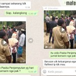 Video yang Viral, Tim Satgas Covid-19 Batang-Batang Ditolak Warga Lakukan Tracing