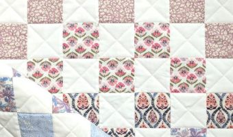 Liberty of London Ombre Patchwork Quilt