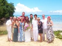 Matava Wedding on private beach in Fiji