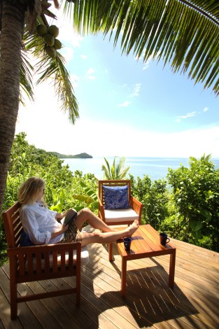 A million dollar view at Matava, Kadavu, Fiji