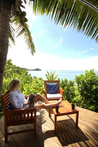 A million dollar view at Matava, Kadavu, Fiji