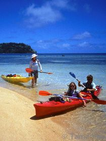 Sea kayaking and cultural adventures with our partners and Kadavu Island expert guiding company Tamarillo Tropical Expeditions.