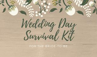 wedding day survival kit matayamade