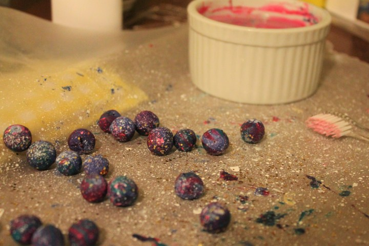 Clay Galaxy Beads