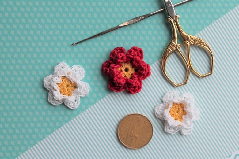 Crochet Mini Flowers