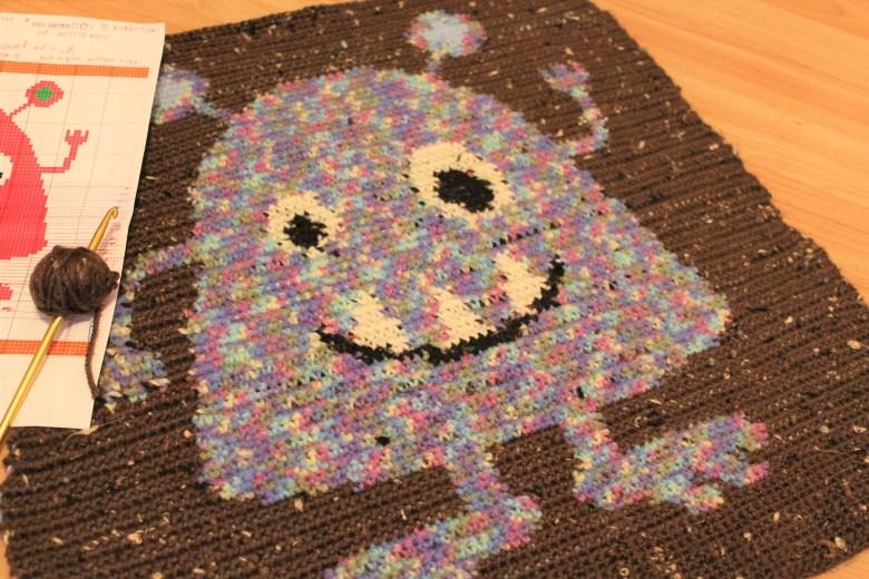 Monster Baby Blanket Part One
