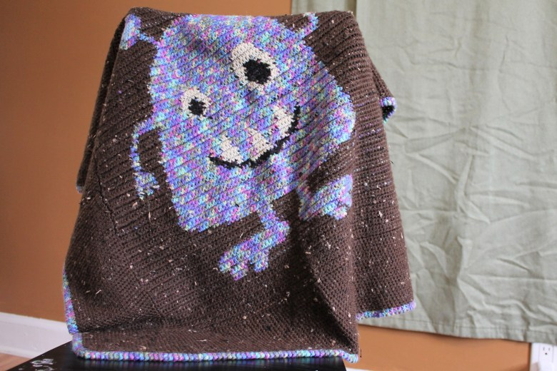 Monster Baby Blanket Part Two