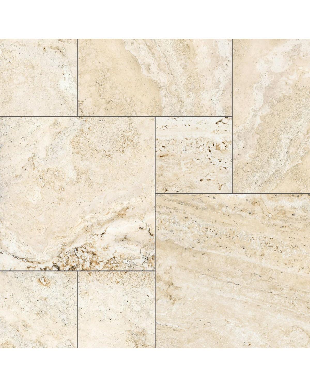 carrelage imitation marbre travertino