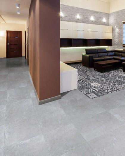 pavement porcelain tile aspect cement hydra 60x60 hdc