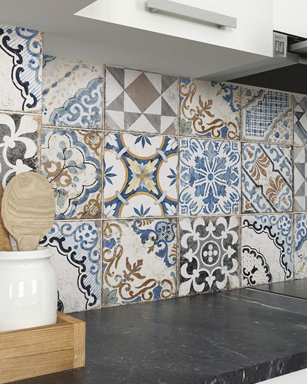 porcelain tile imitation hydraulic
