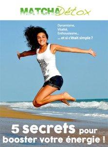 Ebook 5 secrets pour booster votre énergie !