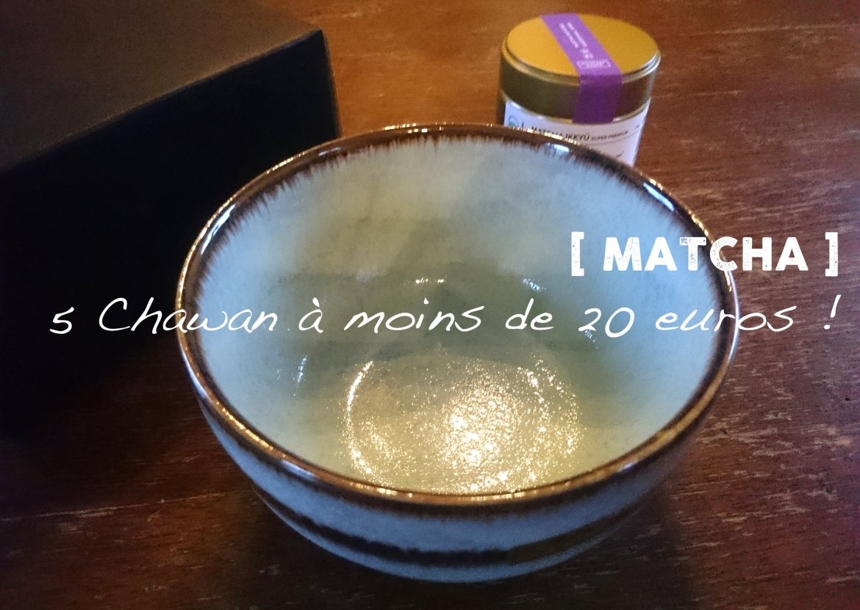 5 chawan à moins de 20 euros