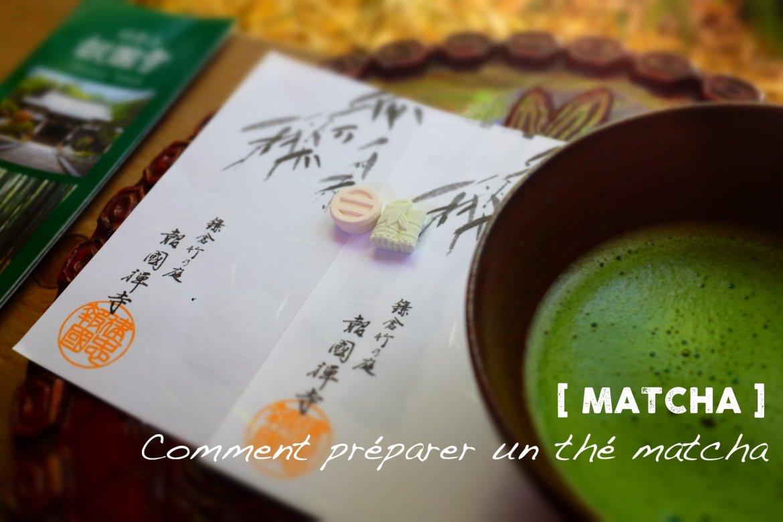 Comment préparer du thé Matcha