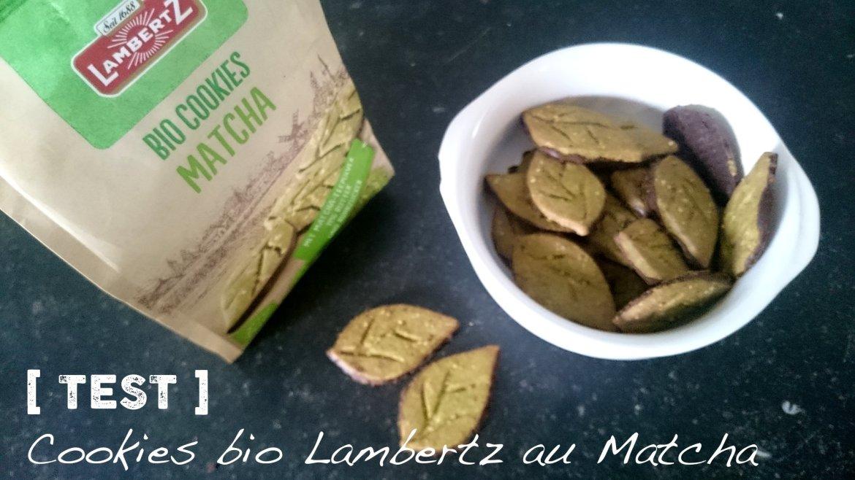 Bio Cookies Matcha de Lambertz