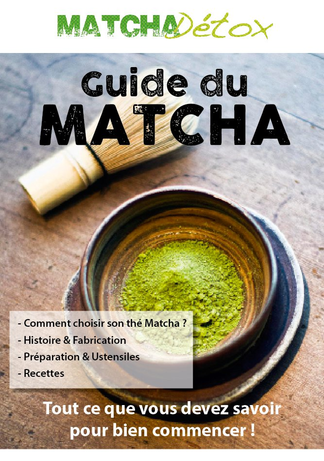 "E-book ""Le Guide du Matcha"""