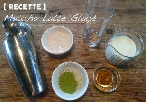 Recette du Matcha Latte Glaçé