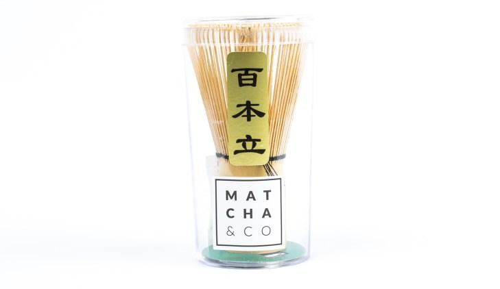 Batidor de bambú Chasen (100 varillas) 4