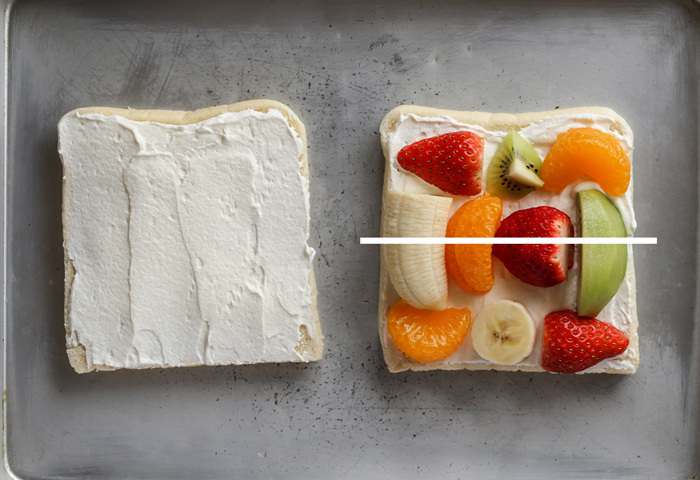 Japanese fruit sandwich recipe
