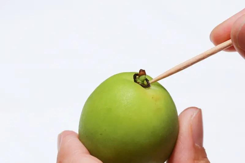 Nanko-ume green plums
