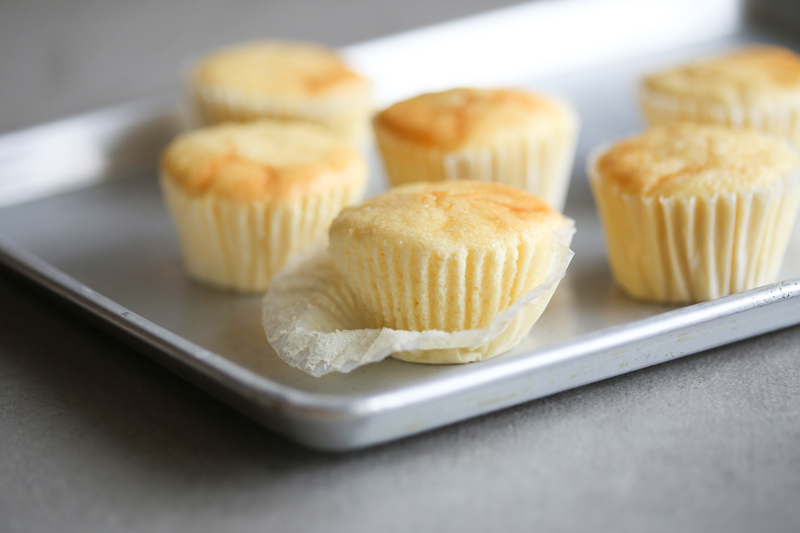 Japanese cotton cheesecake cups gluten free