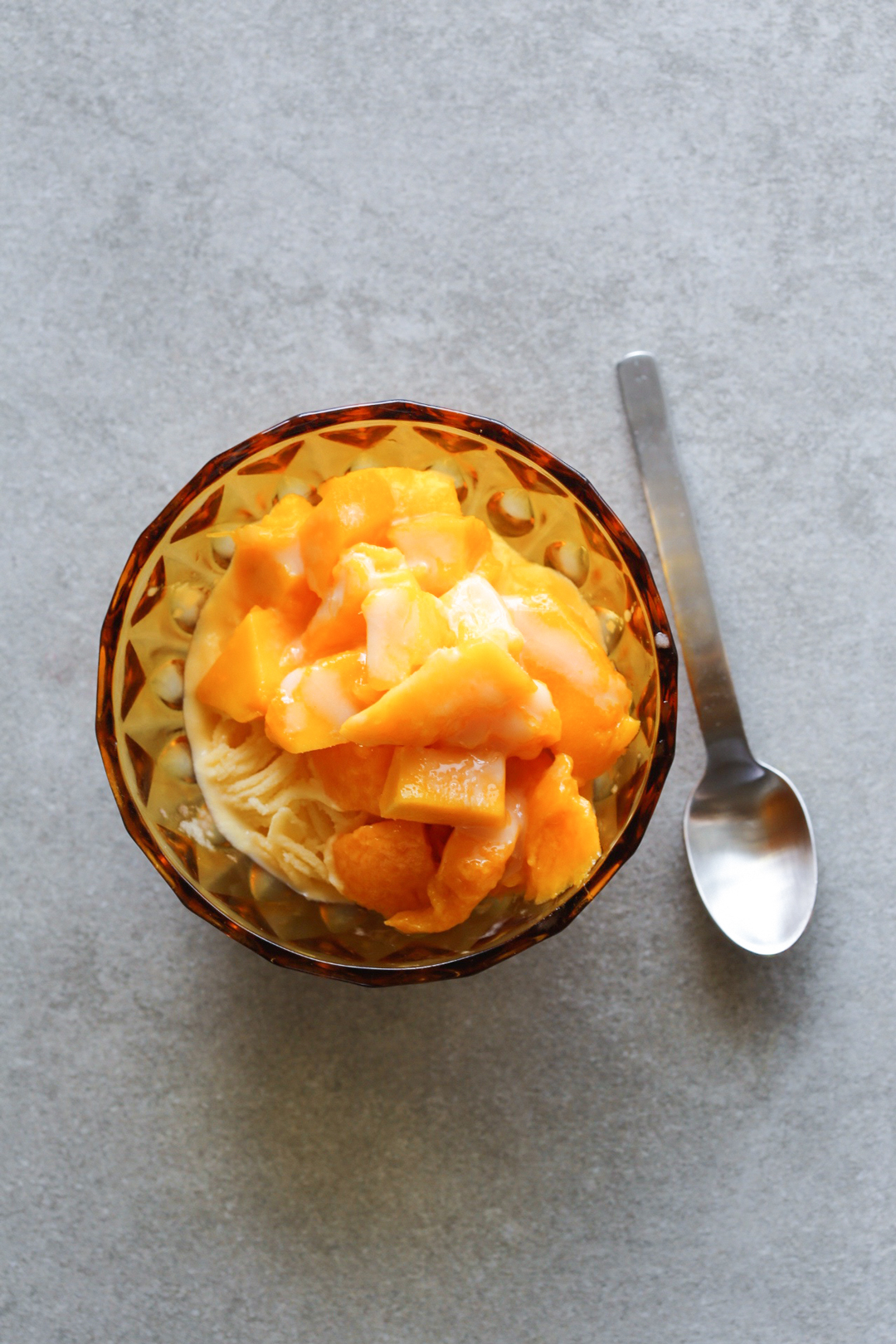 Taiwanese mango shaved ice Karigori