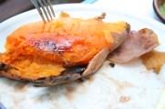 Roasted sweet potato, so yummy!
