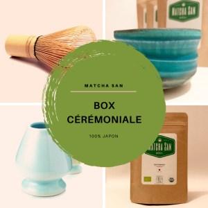 Matcha-San Box Cérémoniale – 100% Japon